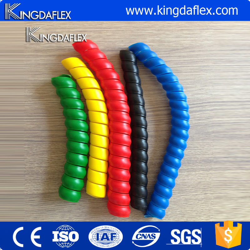 Hot Sale Plastic Spiral Corner Edge Protection Guard for Hydraulic Rubber Hose