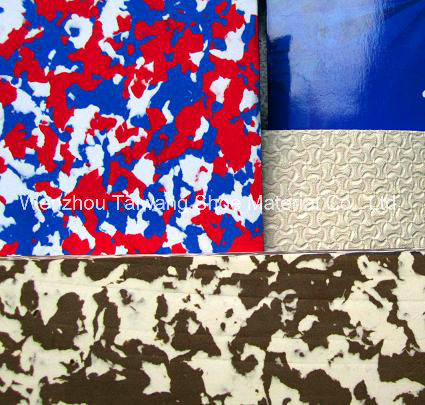 Camouflage EVA Color Foam Rubber EVA for Packing and Insole