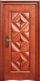 High Quality Single Leaf Steel Door (EF-S043)