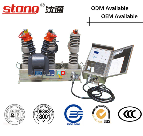 Stong Zw32-12m Type Outdoor High Voltage Vacuum Circuit Breaker