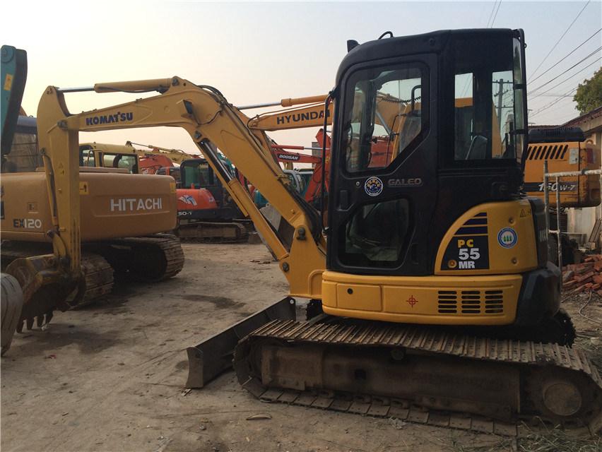 Secondhand Komatsu MIDI Excavator Nini Digger PC55mr-2