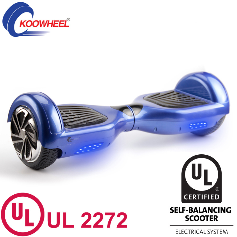 New Arrival UL2272 Approval for The Electric Scooter Hot Sale UL2272 Two Wheels Skateboard
