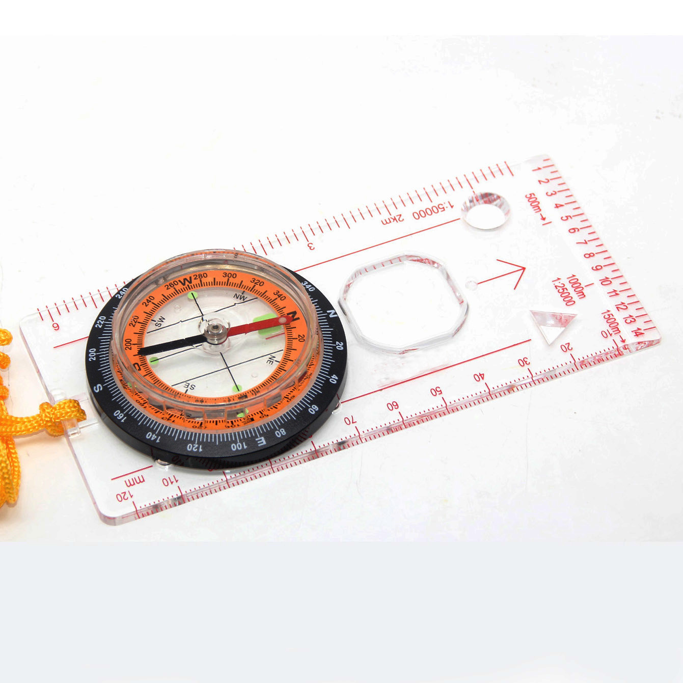 Outdoor Map Compass for Hiking or Sailing #MA-45-5c