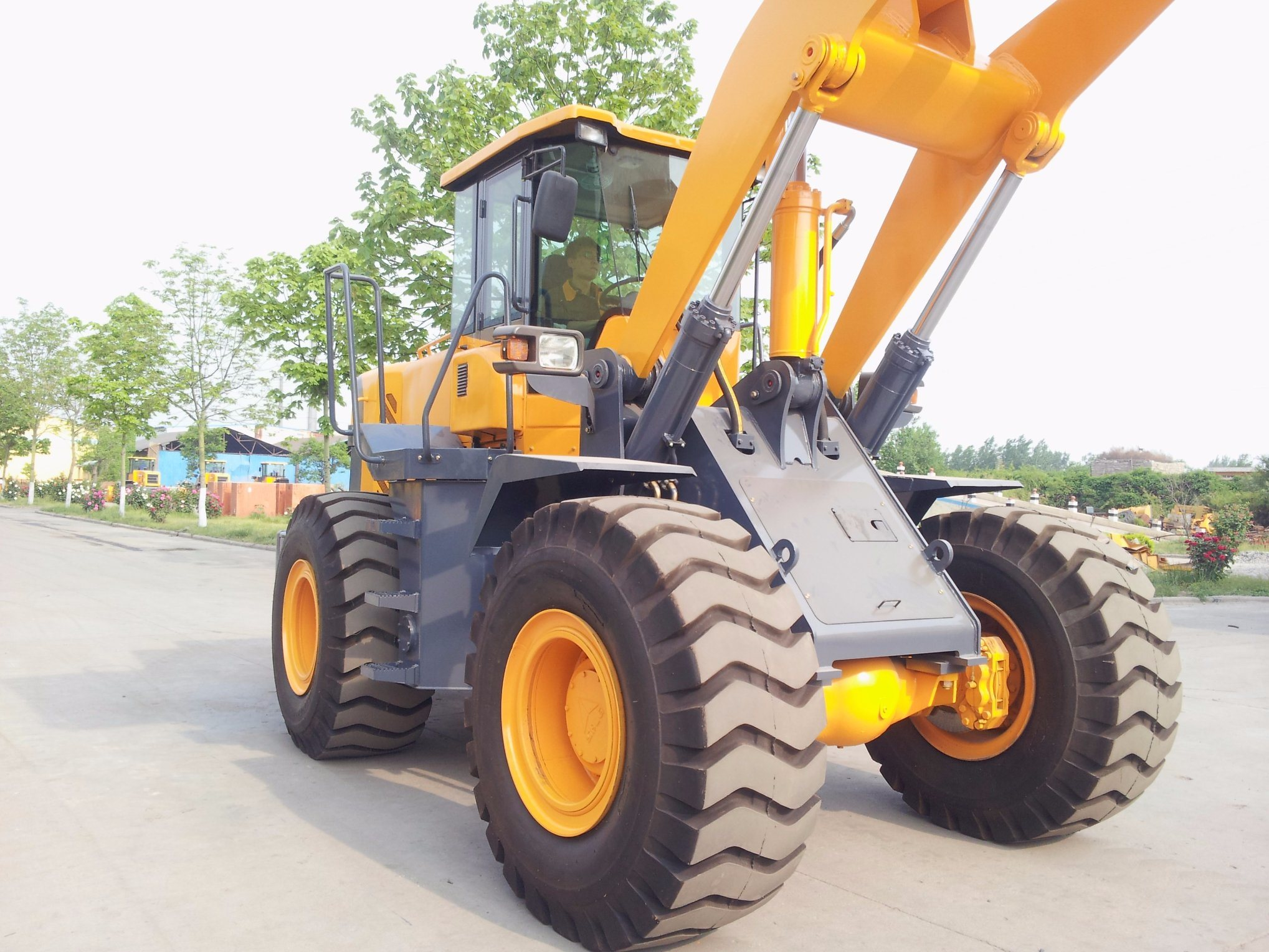 Five Tons Wheel Loader (LQ953) Sdlg Lingong Design 5 Tons