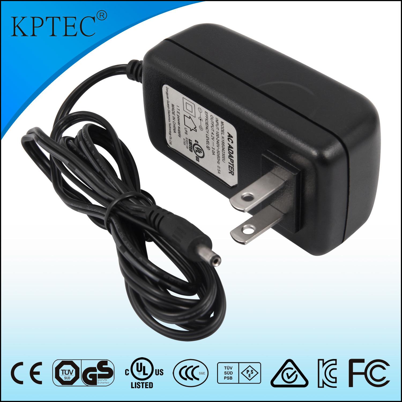18W 12V 1.2A Power Adapter with USA Standard Plug