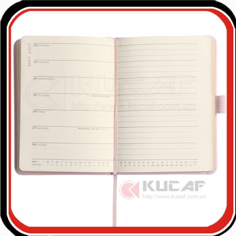 Custom Glitter Edge Note Book A5 Diary 2018