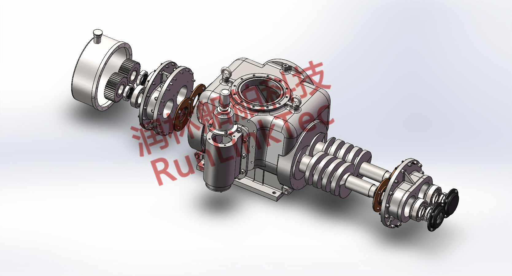 Stainless Screw Pump/Double Screw Pump/Twin Screw Pump/Fuel Oil Pump/2lb4-50-J/50m3/H