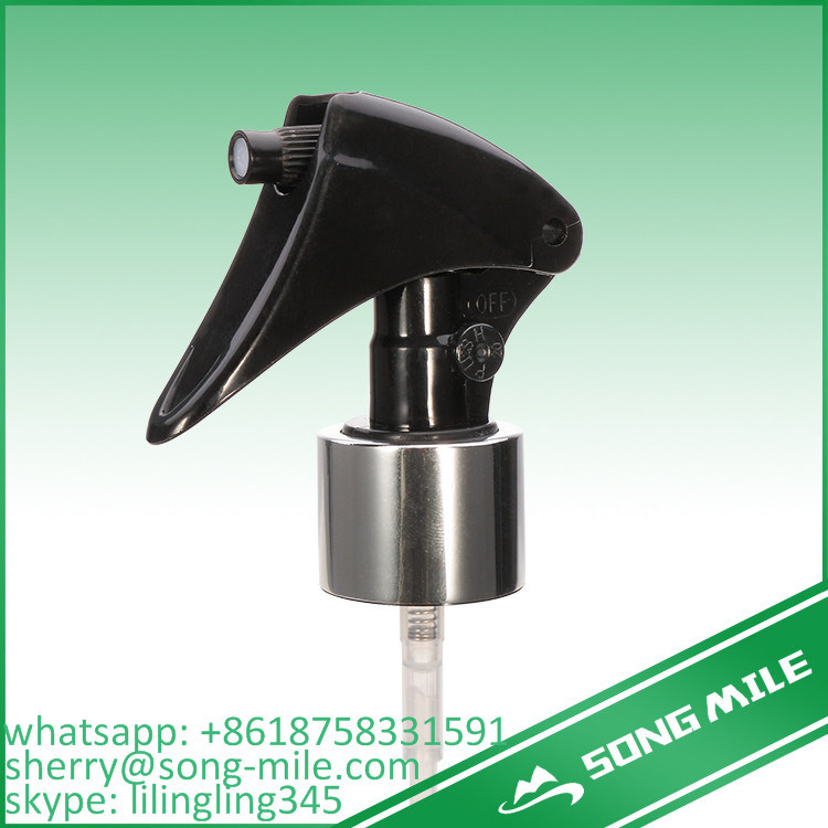 Upside Down Mirco Mini Trigger Sprayer Plastic Screw Cap for Bottles