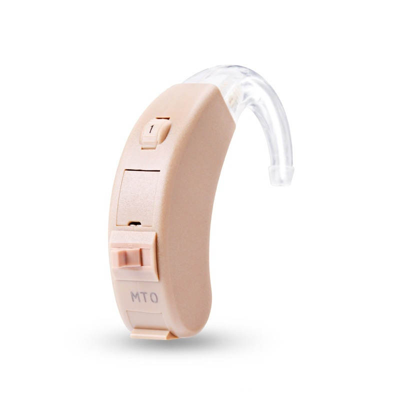 Home Care Analog Hearing Aid New Class-D Amplifier Powerful Output Bte
