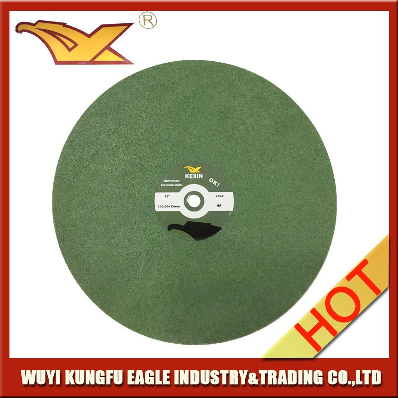 "12""Non Woven Polishing Wheel (300X50mm, 9P)"