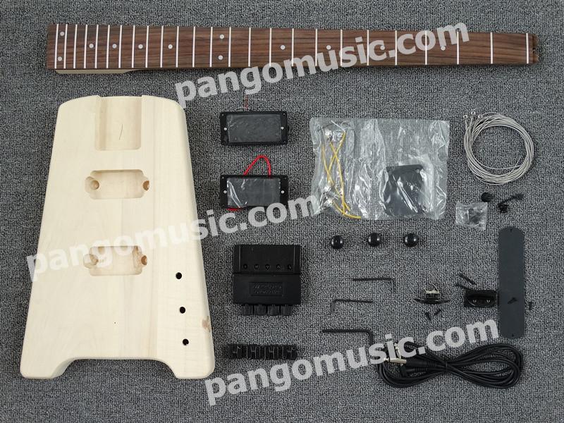 Pango Headless 4 Strings DIY Electric Guitar Kit / DIY Headless Bass (PWT-528K)