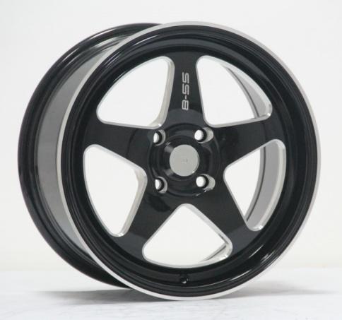 15 Inch/16 Inch Car Aluminum Wheels with PCD 4/5X100-114.3