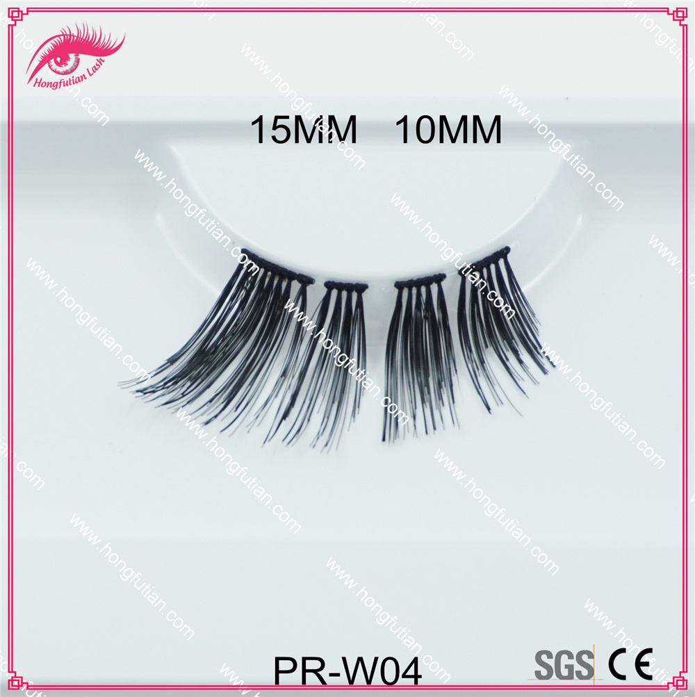 New Designed Human Hair False Eyelash for Makeup Artist Eye Lash