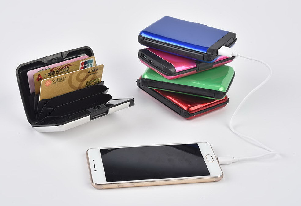 Small Size Wallet Power Bank 2000mAh with Acceptable Printing Logo/Image