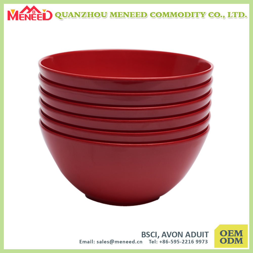 China Factory Supply Food Grade Melamine Salad Bowl