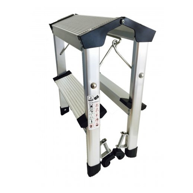 China Supplier Simple Step Ladder Aluminum Step Stool
