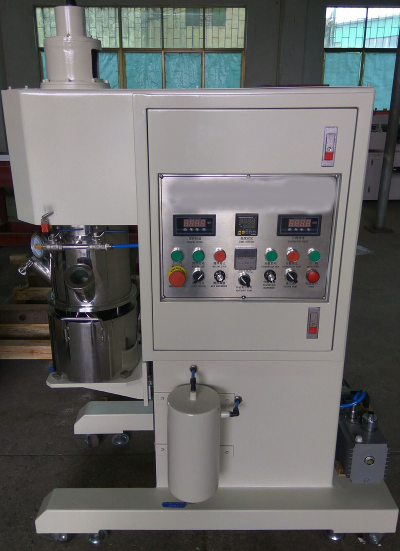 Silikon Adhesive Sealant Mixing Machine Lab Double Planetary Mixer