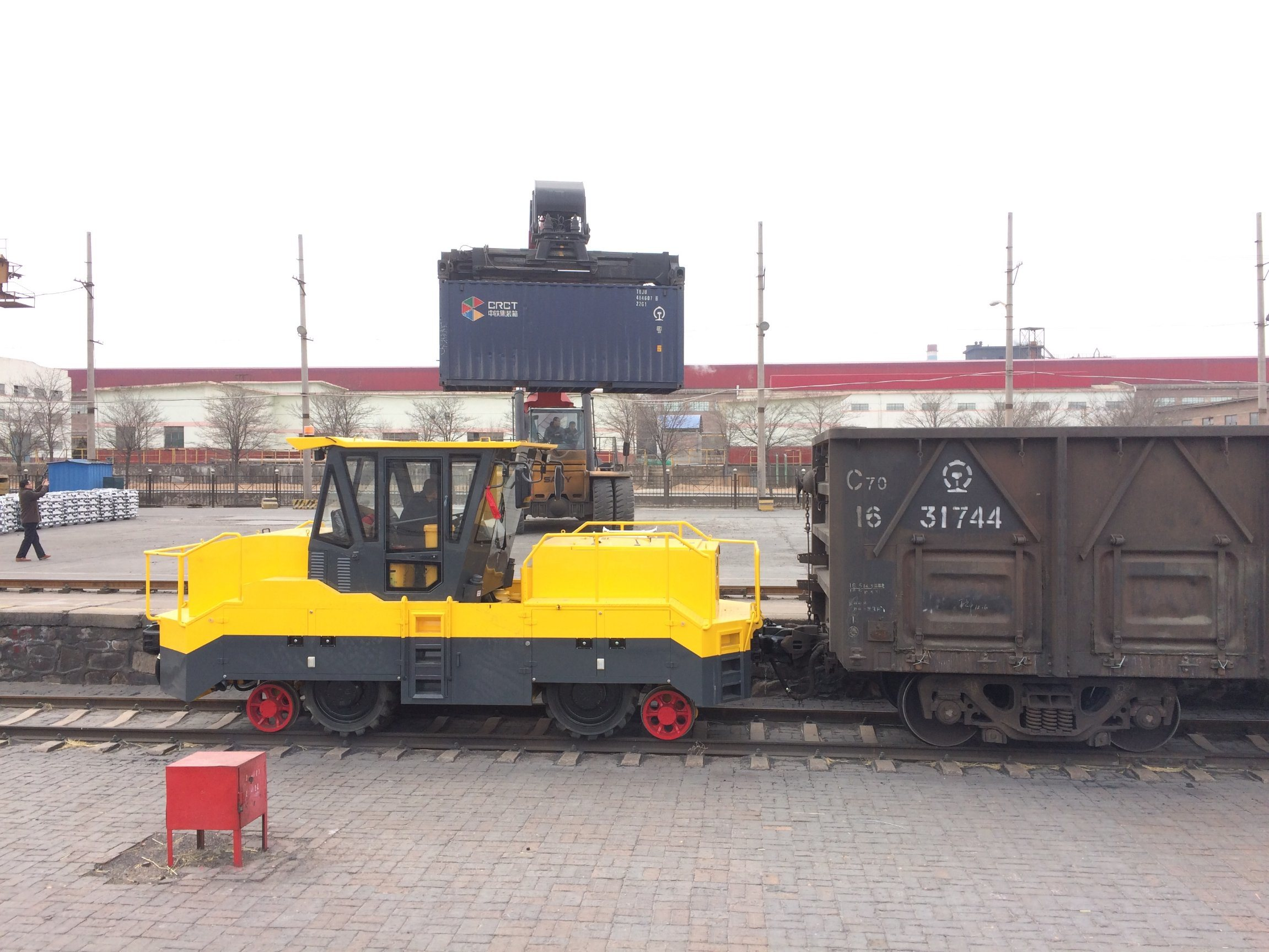 Roadrail Shunting Tractor with Cummins Engine