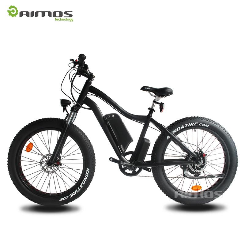 26*4.0 Fat Tire Electric Bike