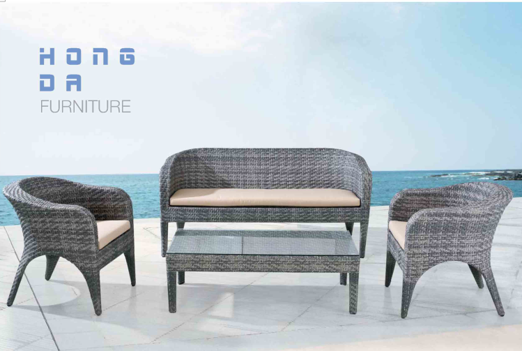 . Outdoor Leisure Rattan Sofa