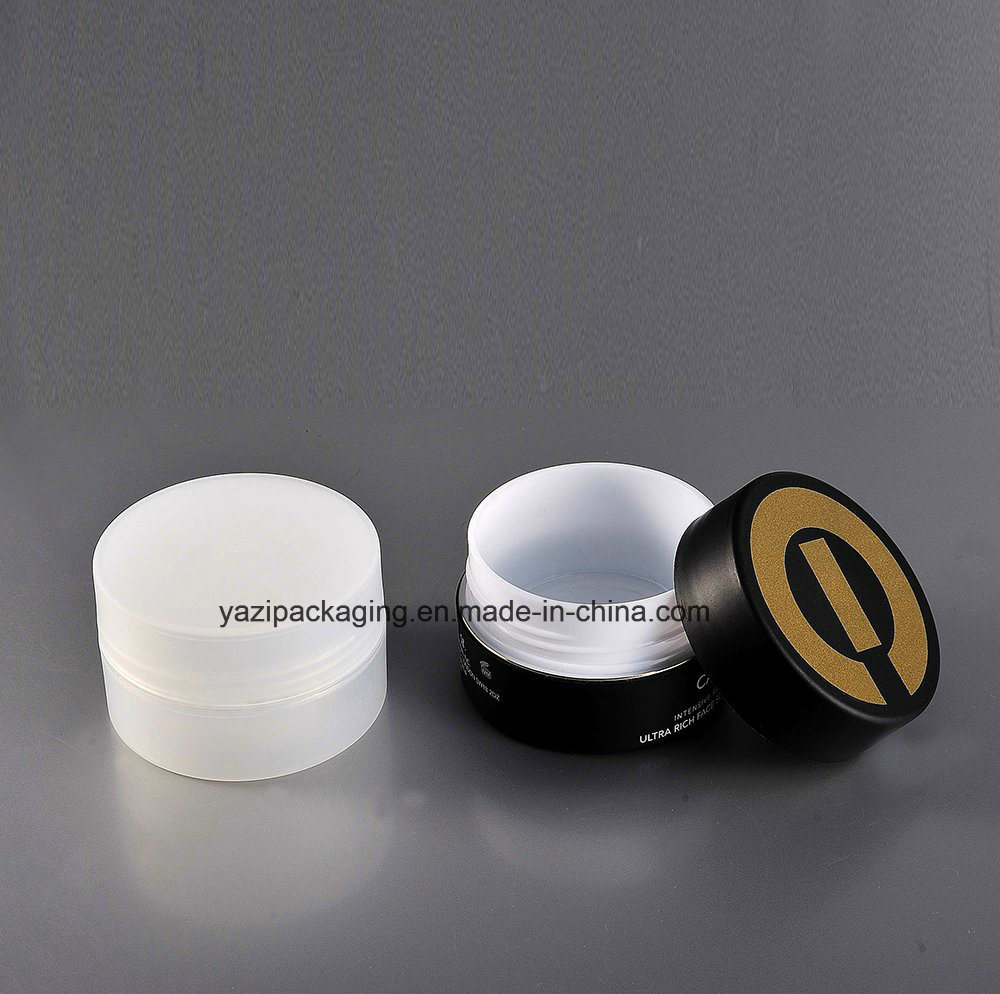 100g Cosmetic PP Double Wall Plastic Jar