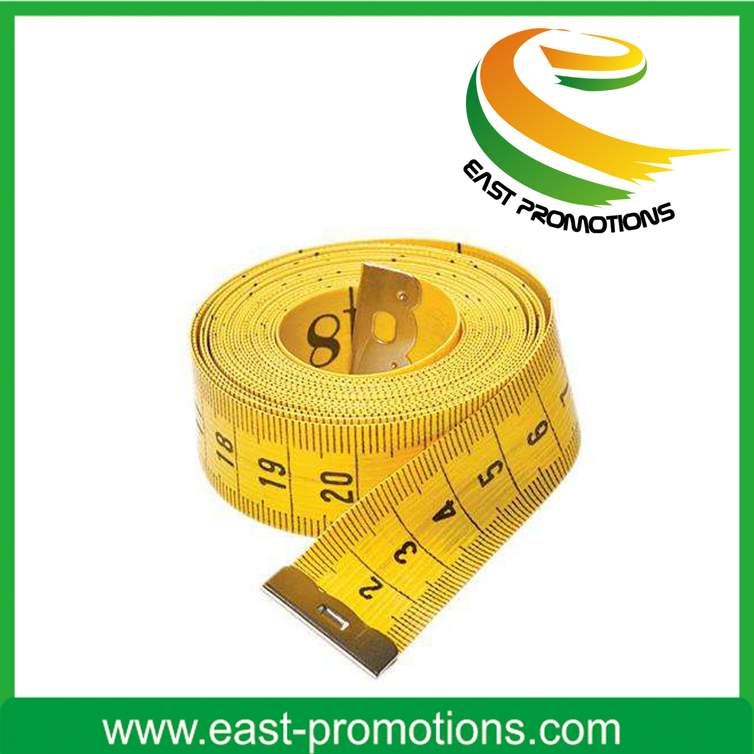 New Design PVC Fiberglass Sewing Promotional Mini Tape Measure