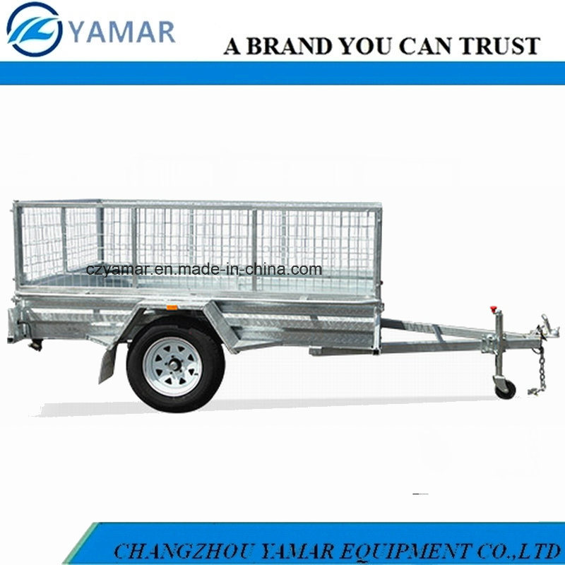 Fully Welded Box Trailer with 600mm Cage