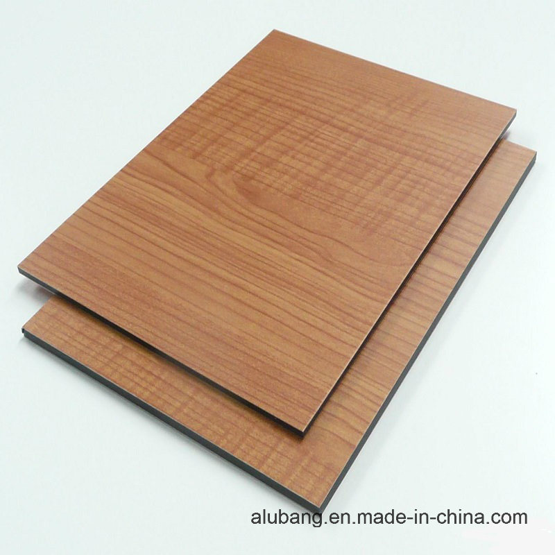 Good Flexibility Aluminum Composite Panel (ALB-021)