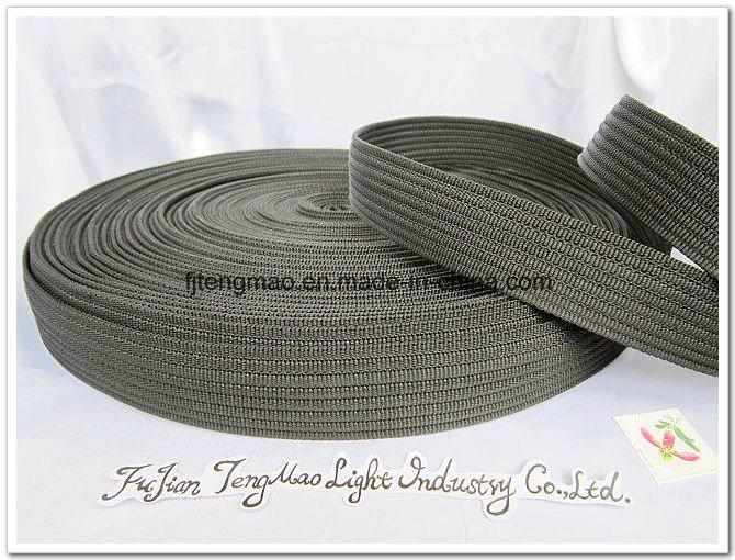 "1.5"" Black Polypropylene FDY Webbing"