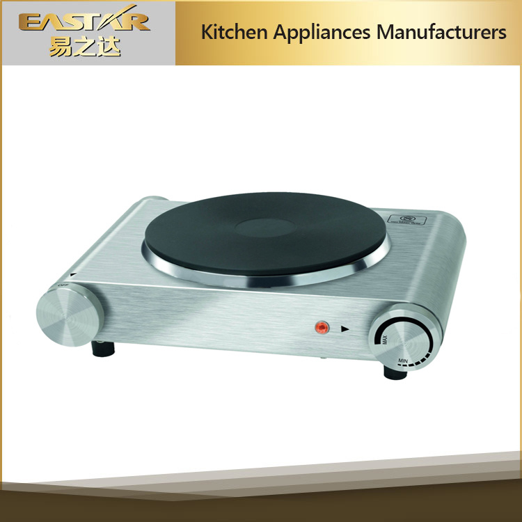 Stainless Steel Housing Single Burner Hotplate