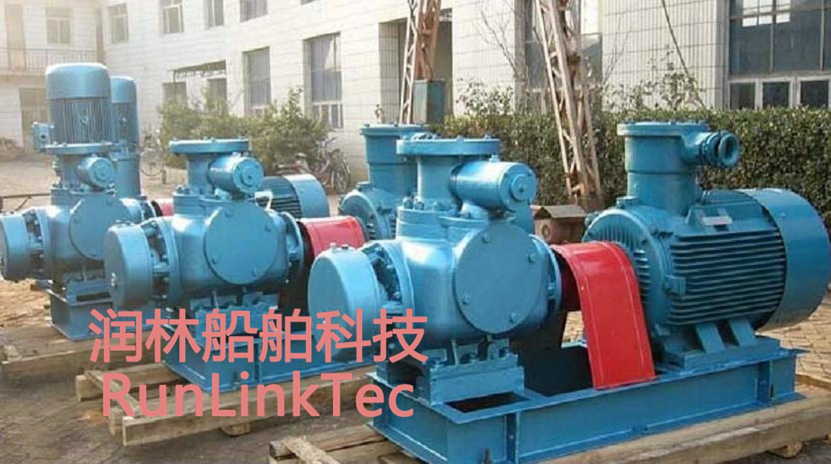 Stainless Screw Pump/Double Screw Pump/Twin Screw Pump/Fuel Oil Pump/2lb4-500-J/500m3/H