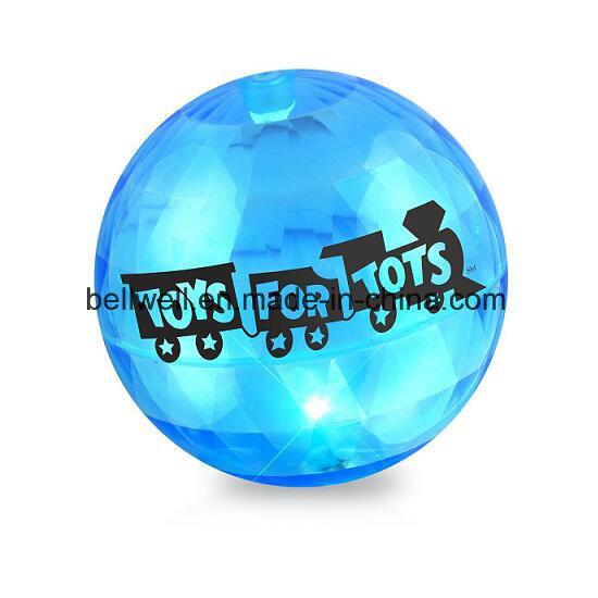 Colorful TPU Flashing Air Bouncing Ball for Kids