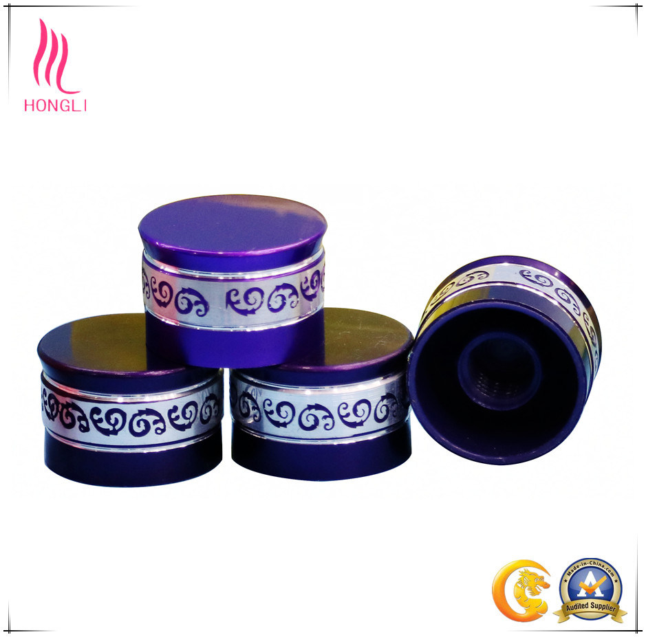 Printed Different Types of Screw Caps Recycle Plastic Sealed Bottle Caps