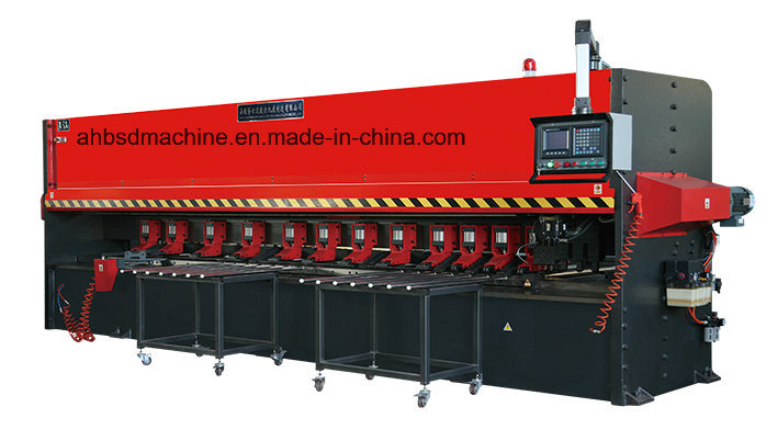Groove Vee Cut Machine for Burglar Proof Door
