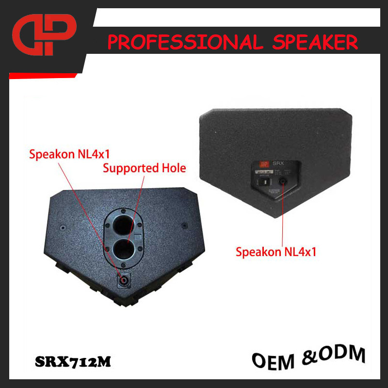 Stage PRO Audio Speaker Srx712m Monitor Speaker