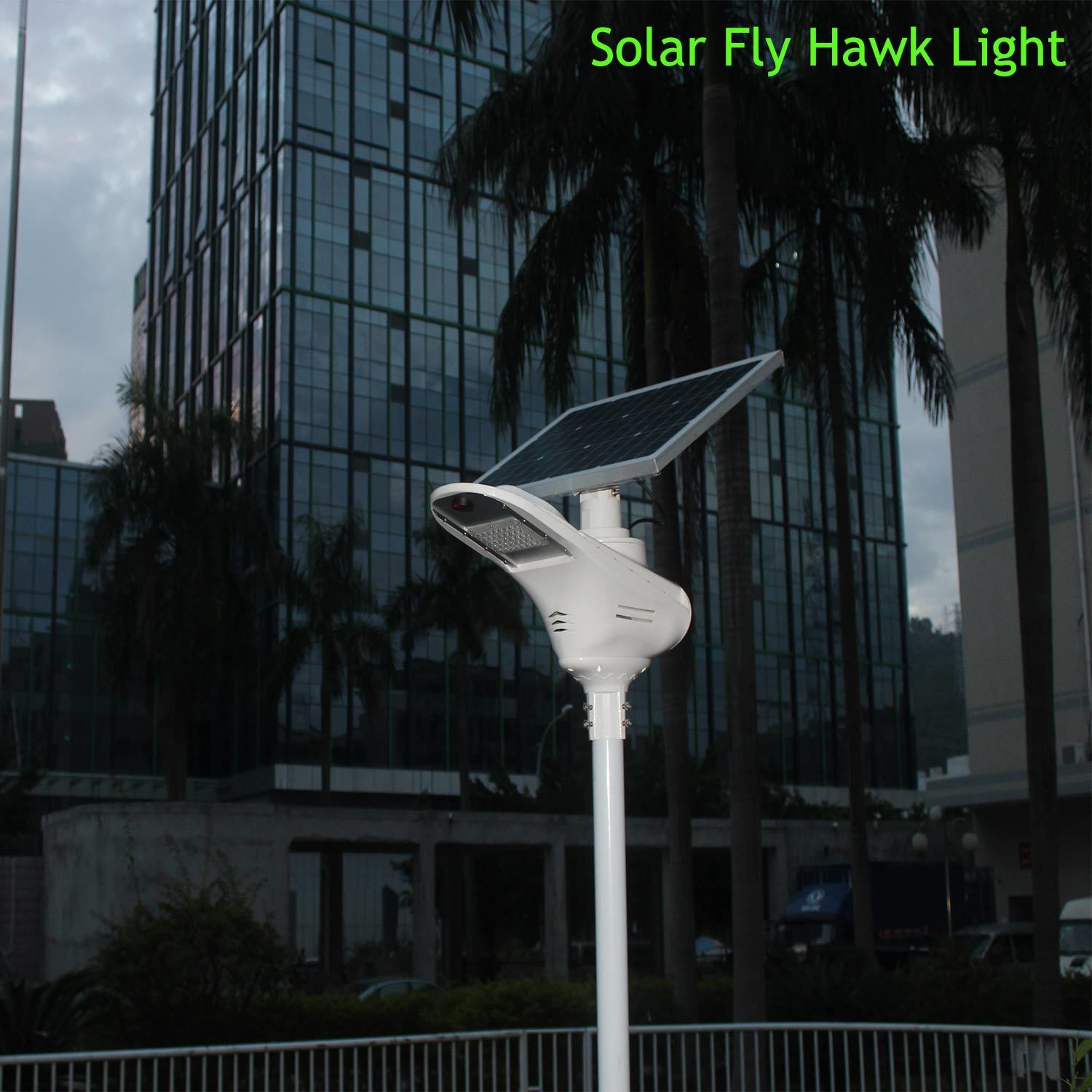 Bluesmart Integrated Solar LED Street Light 20W with Lithium Battery