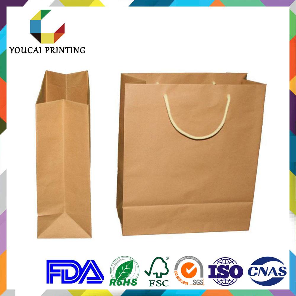 Printed Twist Handle Paper Carrier Bag