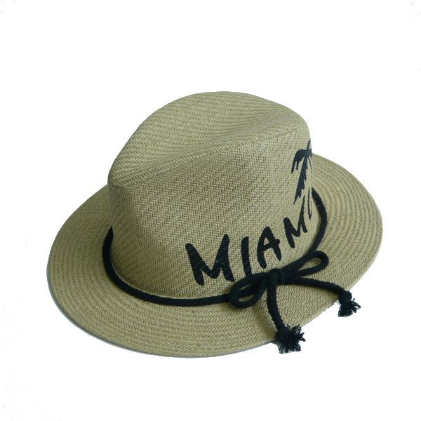 High Quality Print Straw Hats