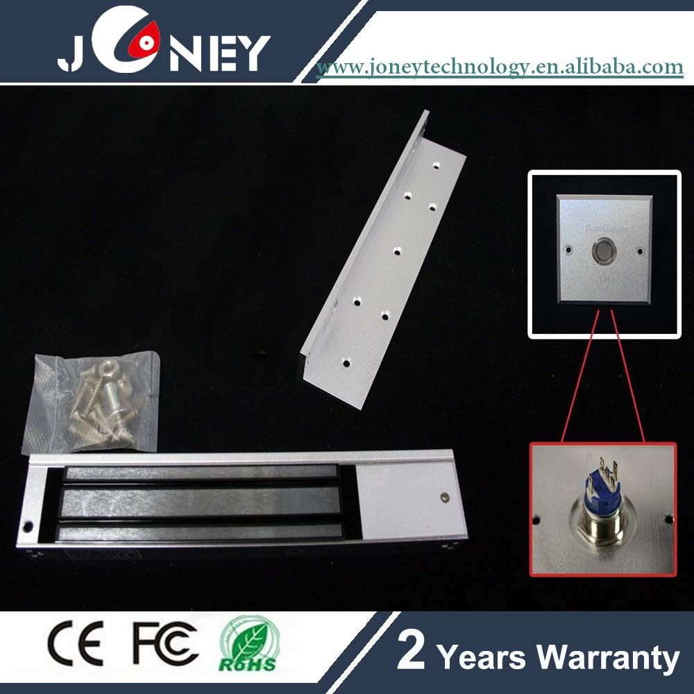 Single Door Magnetic Lock with LED Holding Force 280kg (600Lbs)