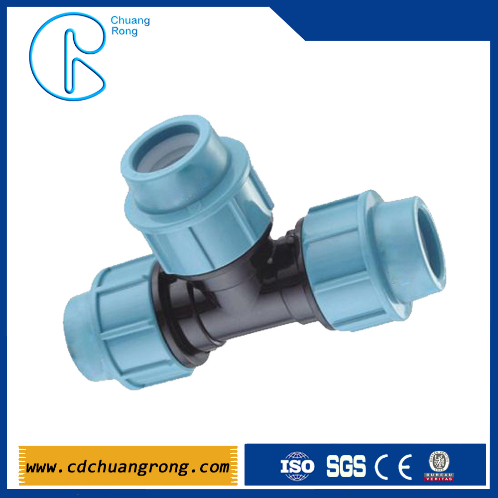 Plastic Water Pipe PP Compression Fitting