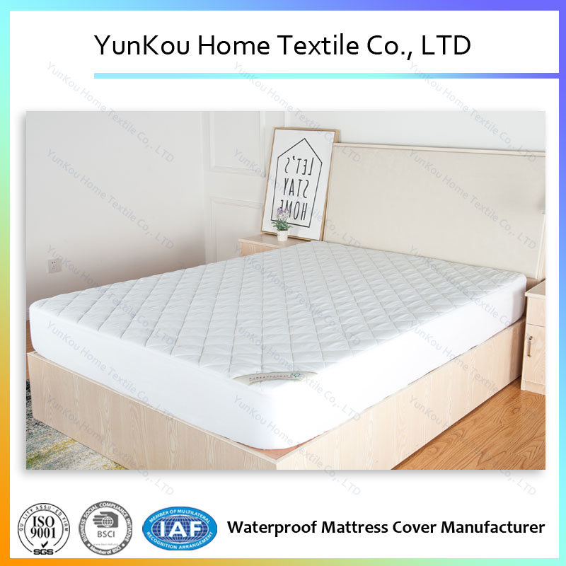 Pongee Quilted Mattress Protector with High Quality
