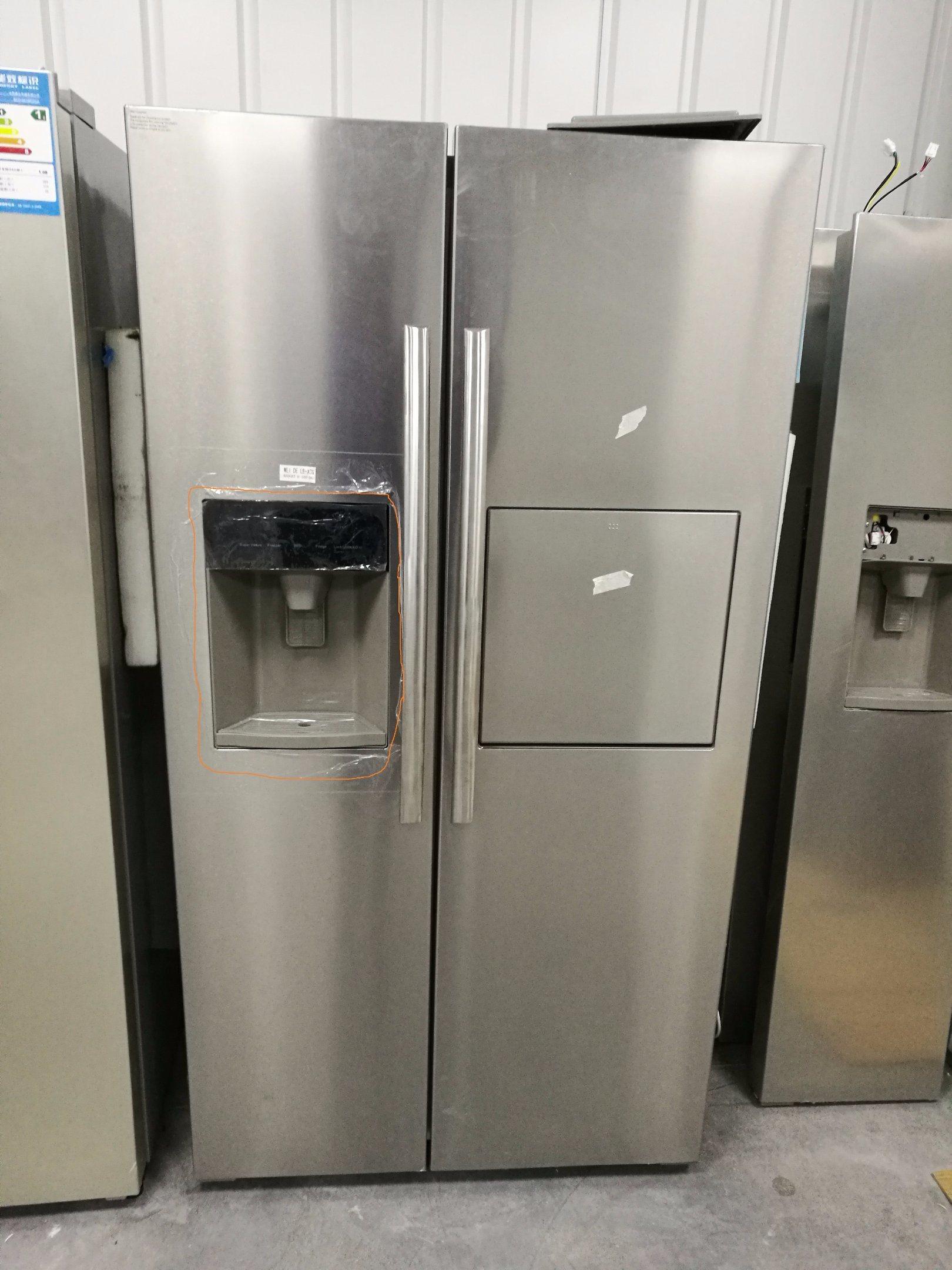 Folio Door Refrigerator with Water Dispenser and Icemaker