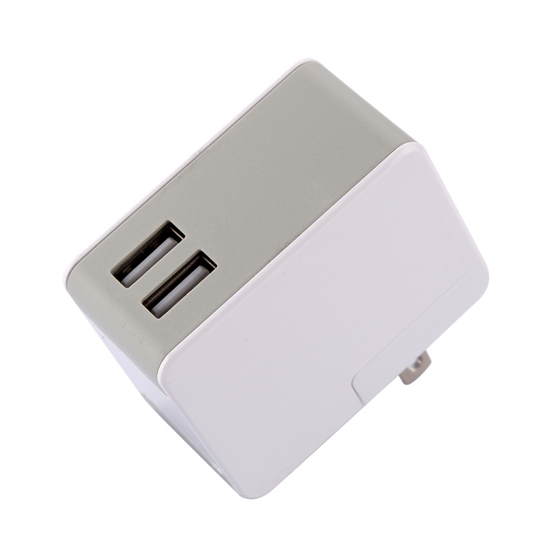 2016 Factory Price 2 USB 5V 2.5A Travel Charger for iPhone