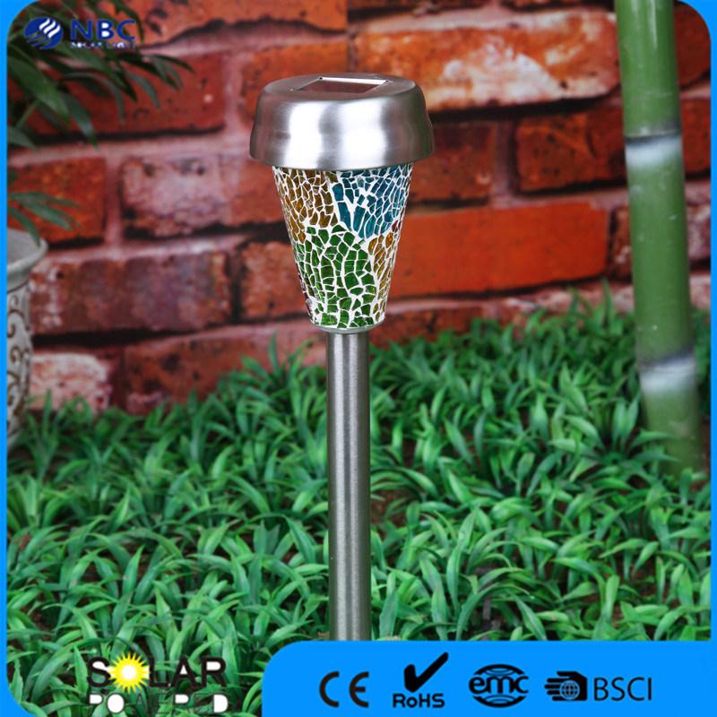 Nbc-9112 Warm White Light and 600 mAh Ni-MH Batteery Solar Mosaic Lamp