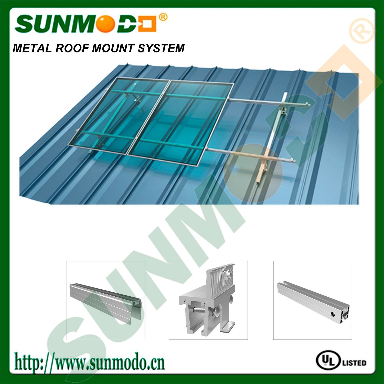 Metal Roof Solar Panel Roof Mount System