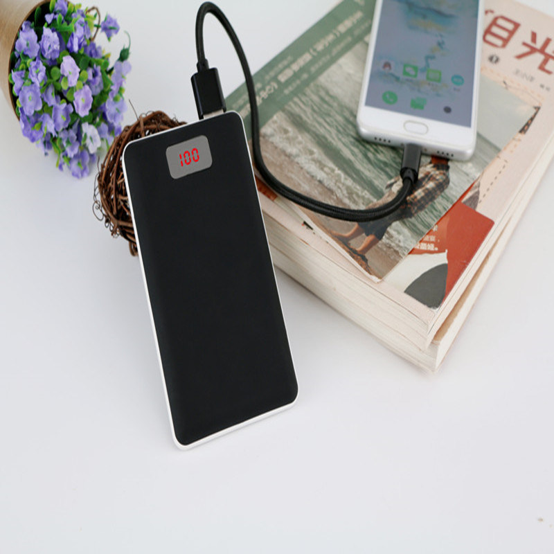 2017 New Portable Power Bank with LED Mobile Power Charger 8000mAh