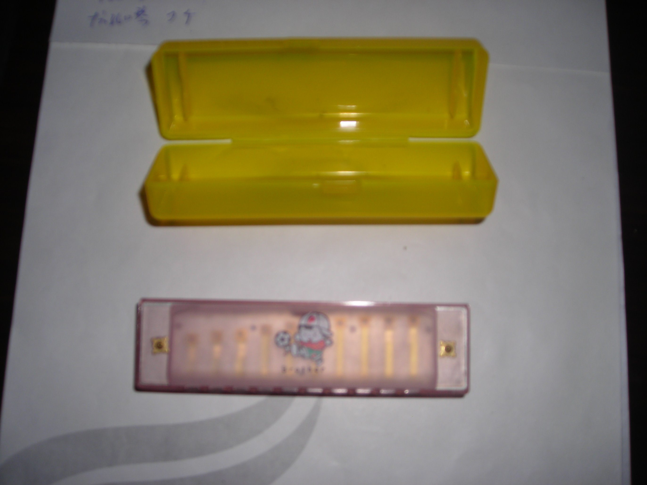 16 Holes Harmonica Withtransparent Box