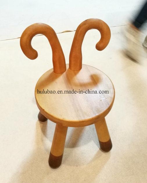 Solid Wood Baby Chair Children Furniture Baby Furniture Animal Stool Cow Stool Sheep Stool Bambi Stool Rabbit Stool