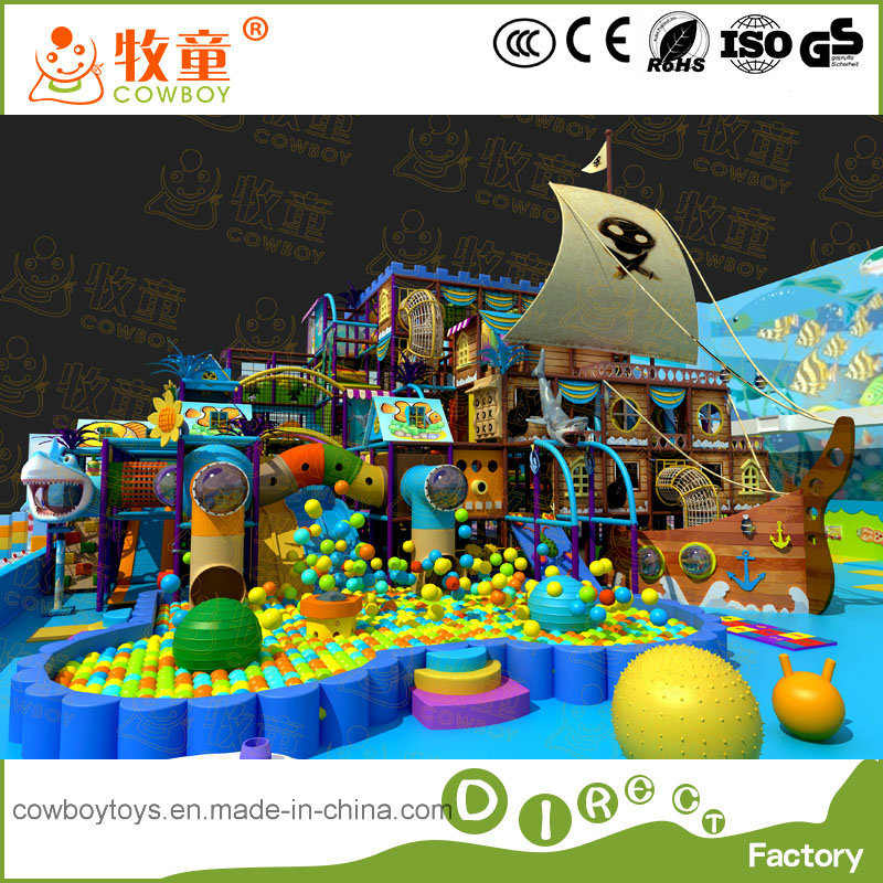 Pirate Boat Theme Style Indoor Playground Project
