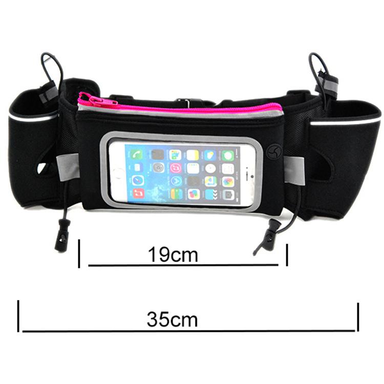 High Quality Gym Bag Outdoor Sport Handbag Elastic Waist Bag